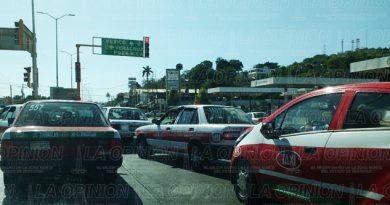 Taxistas, mal y de malas