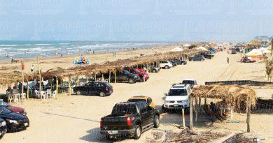 Terrenos irregulares en la playa