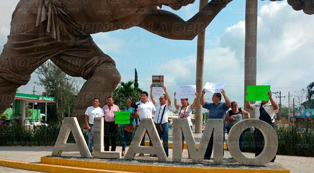 Álamo Manifestación Periodistas Armando Arrieta