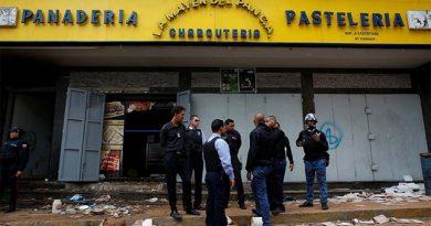10 muertos durante saqueo a panadería en Caracas
