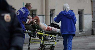 10 muertos por explosión en metro de San Petersburgo