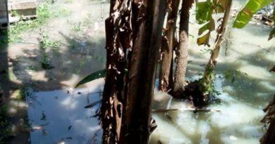 Alarma en la colonia Nueva Tenoctitlan por fuga de aguas negras