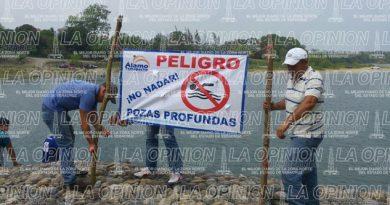 Alertan de riesgos en el río Pantepec
