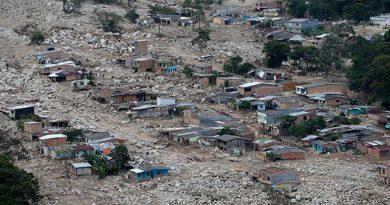 Aumentó a 290 el número de muertos por avalancha en Colombia