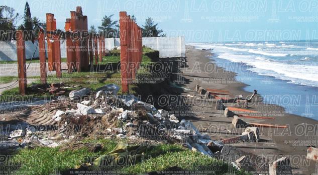 Aumenta riesgo de inundación en Tecolutla por efectos del cambio climático