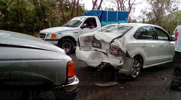 Automóvil Accidente Carretera Federal 180