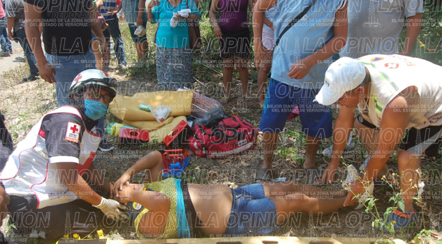 Brutal volcadura; 11 heridos