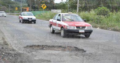 Carreteras de cobro en mal estado