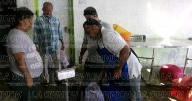 Compran pescado y marisco en Tamaulipas