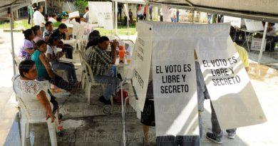 Disminuye número de votantes