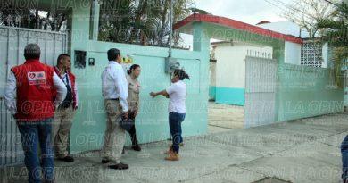 Evacuan escuelas por fuga e incendio