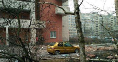 Explosión en edificio residencial de San Petersburgo