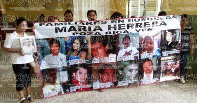 Familiares en Búsqueda Maria Herrera demandan apoyo