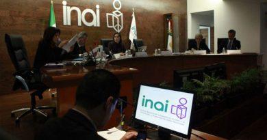 INAI pide copias de las notas diplomáticas enviadas a EU
