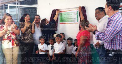 Invierten más de 600 mil pesos en Techumbre Autosoportante para un kinder