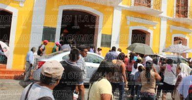 Manifestación en el Ayuntamiento