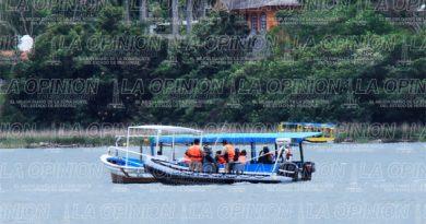 Personal de Resguardo Marítimo Federal realiza intercepción de embarcaciones