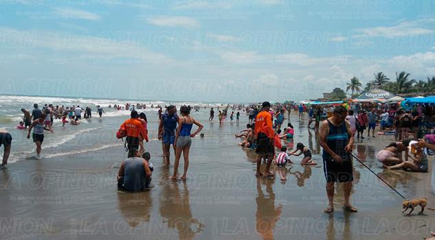 Playas Cazones Cuerpos Seguridad