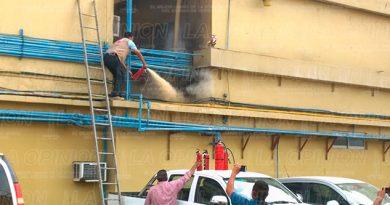 Protección Civil Bomberos Incendio Hotel