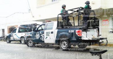 Sacan Fuerza Civil de calles de Tamiahua