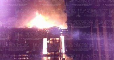 Se incendia casa de líder de Mujeres de humo