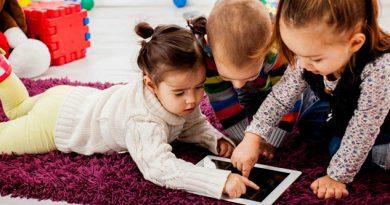 Tabletas y móviles; peligro para la niñez