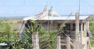 Tormenta eléctrica causa estragos en Tempoal, Huejutla y Chicontepec