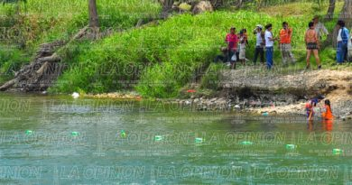 Tragedia en poza del río Vinazco
