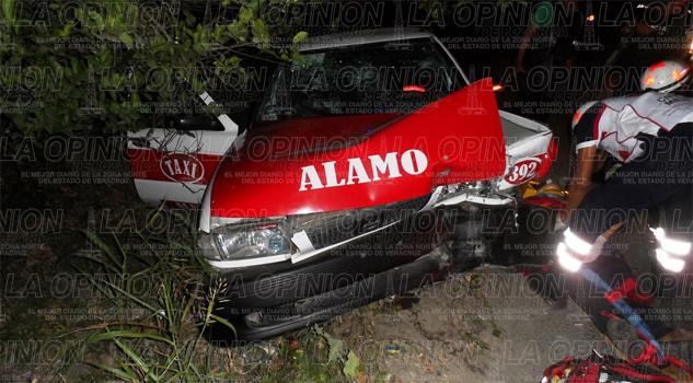 Tres heridos en brutal accidente