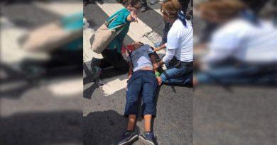 Un herido de bala fue el resultado de la marcha opositora en San Bernardino