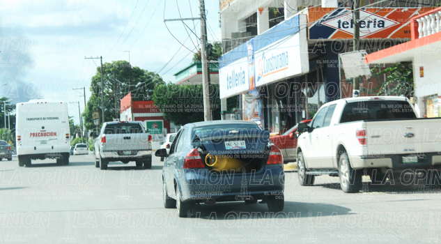 Un riesgo tanques de gas en autos