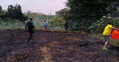 Vecinos Kawatzin Coatzintla Incendio