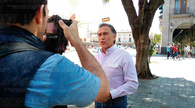 Xalapa Miguel Ángel Yunes Mejoría Armando Arrieta