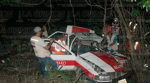 Álamo Muere Taxista Prensado