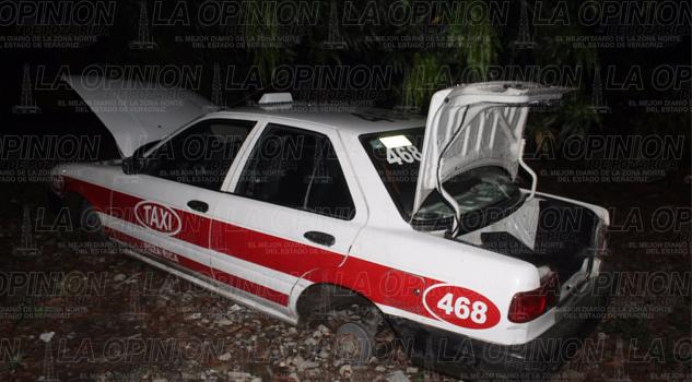 A navajazos atacan a taxista