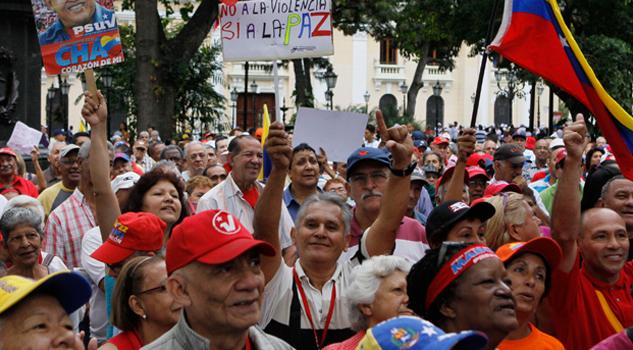 Adultos mayores encabezarán protesta contra Maduro