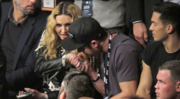 Ardiente encuentro entre Zac Efron y Madonna