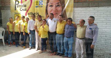 Arranca campaña la candidata de la alianza PAN-PRD Patricia Cruz Matheis