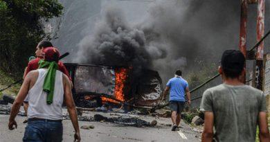Aumenta a 34 el número de muertos por protestas en Venezuela