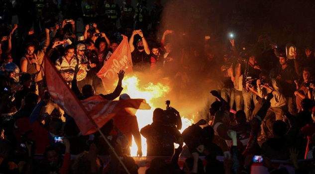 Aumenta violencia en Brasil por protestas contra Michel Temer