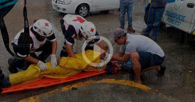 Poza Rica Brutal Choque Taxista Mototortillero