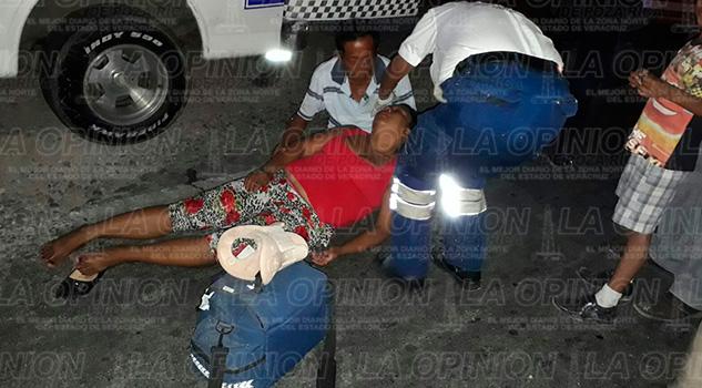 Coatzintla Mujer Grave Embestida Automóvil