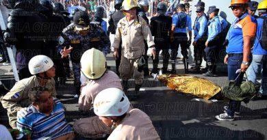 Cuatro muertos por estampida en la final de futbol hondureño