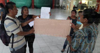 Denuncian invasión de área verde en Poza de Cuero