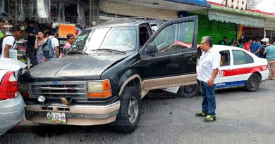 Ebrio Taxista Aparatoso Accidente