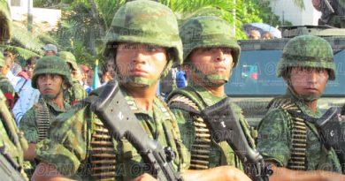 Ejército patrulla red de poliductos