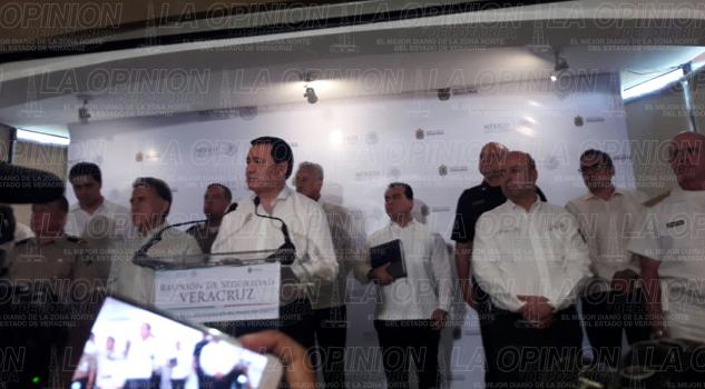 El Gobierno Federal apoyará a combatir la delincuencia en Poza Rica: Chong