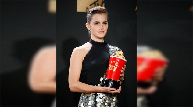 Emma Watson se llevó las palomitas en los MTV Movie & Tv Awards