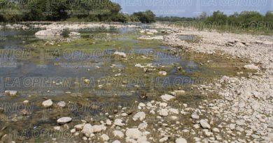 En nivel crítico río Cazones