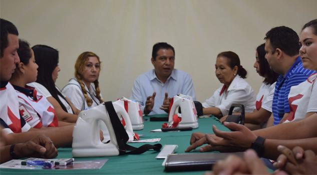 Escuelas y empresas en la mira de la Cruz Roja